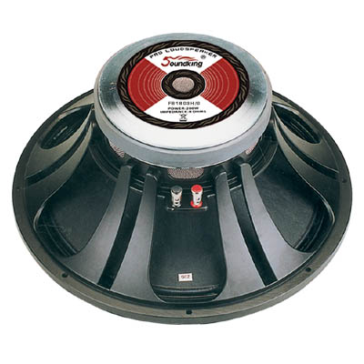 "Изображение SOUNDKING FB1803H Динамик 18"", 8 Ohm, 500W, 98 db,"