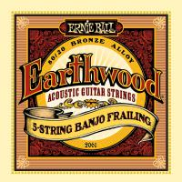 Изображение Ernie Ball 2061 струны для 5 стр. банджо Earthwood 80/20 Bronze Frailing (10-13-15-24w-10)