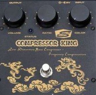 Изображение MARS Bass Compressor King Педаль для бас-гитары