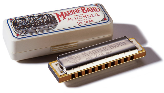Изображение HOHNER M1896216 Губная гармошка Marine Band C-harmonic minor