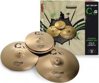 "Изображение STAGG CXG SET Набор тарелок (13"" Hi-Hat, 16"" Crash"
