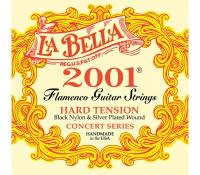 Изображение LA BELLA 2001FH Flamenco Hard Tension Нейлоновые стр