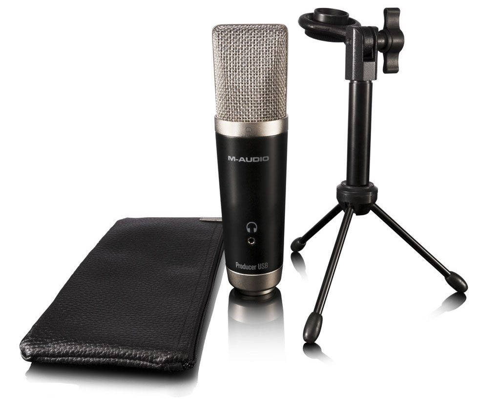Изображение M-AUDIO VOCAL STUDIO Комплект: конд. USB микрофон, микр. стойка, Pro Tools SE