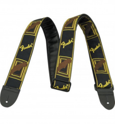 Изображение FENDER BLK/YELLOW/BROWN MONO STRAP 0990681000