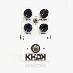 Изображение KHDK ELECTRONICS N2 CLEAN BOOST Педаль гитарная Distorion
