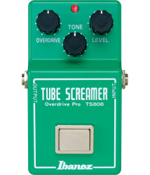 Изображение IBANEZ Tube Screamer CULT TS808 1980 #1 Cloning mod. Педаль гитарная