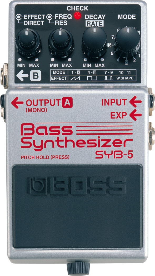 Изображение BOSS SYB-5 Педаль бас-гитарная Bass Synthesizer