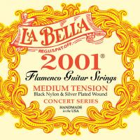 Изображение LA BELLA 2001FM Flamenco Medium Tension Нейлоновые с