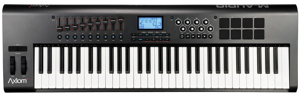 Изображение MIDI-клавиатура M-AUDIO AXIOM MARK II 61